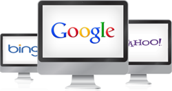 Get your website onto Google, Yahoo, Bing etc